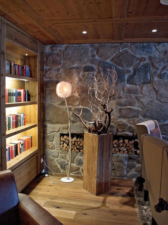 Realizzazioni in pietra ricostruita per interni ed esterni - Sassi decorativi per interni ...