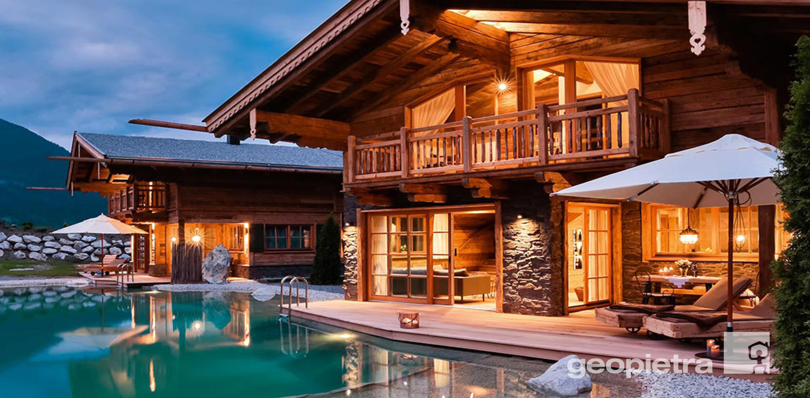 Architettura in pietra per Outdoor, Indoor, Villa, Piscina ...