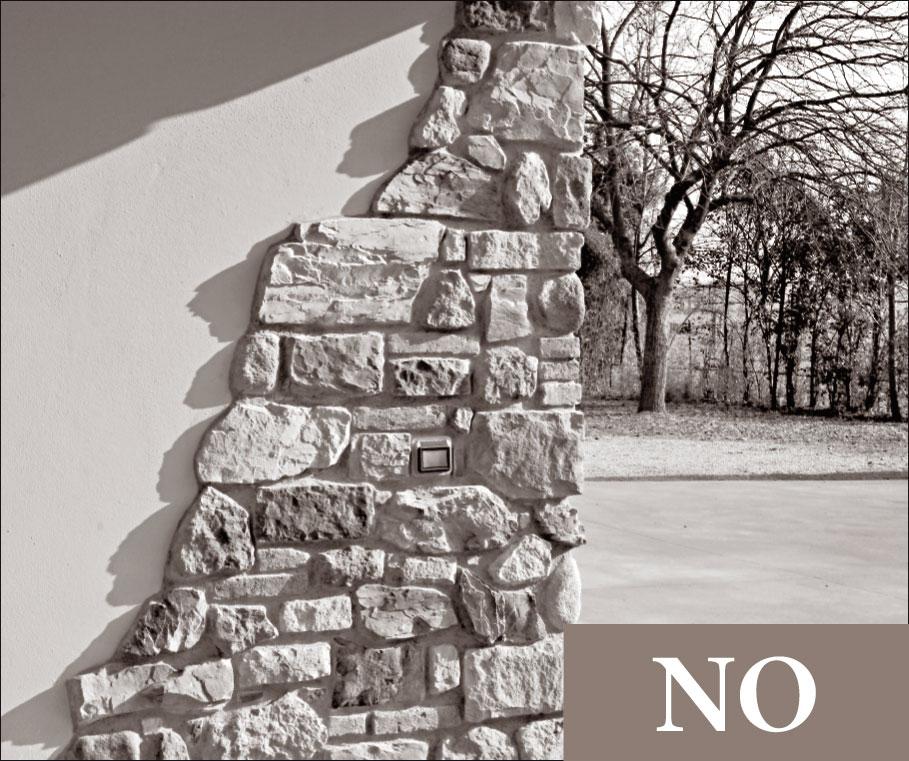 11 regole di posa geopietra - Rivestire una parete in pietra ...