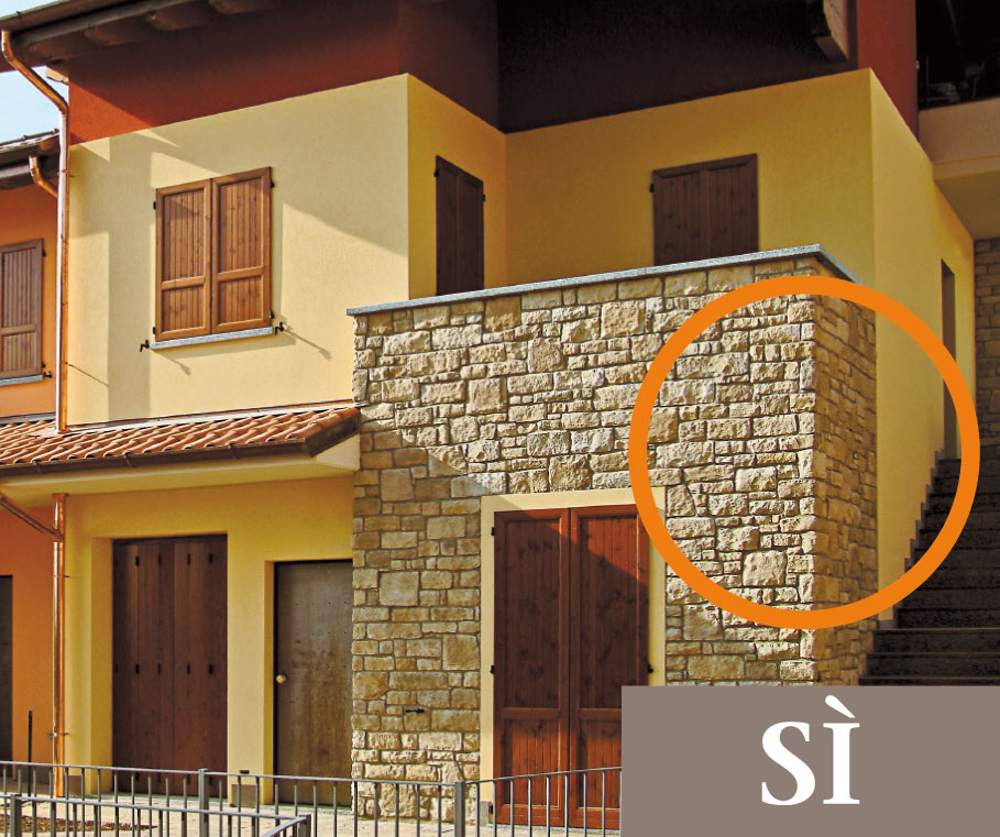 11 regole di posa geopietra for Come stimare i materiali da costruzione per la costruzione di case